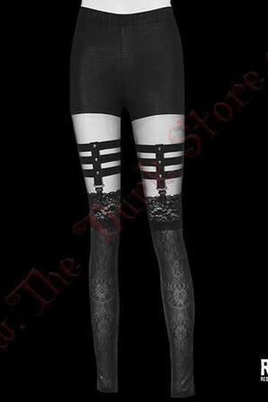 Legging 'Snake Lace' RQ-BL
