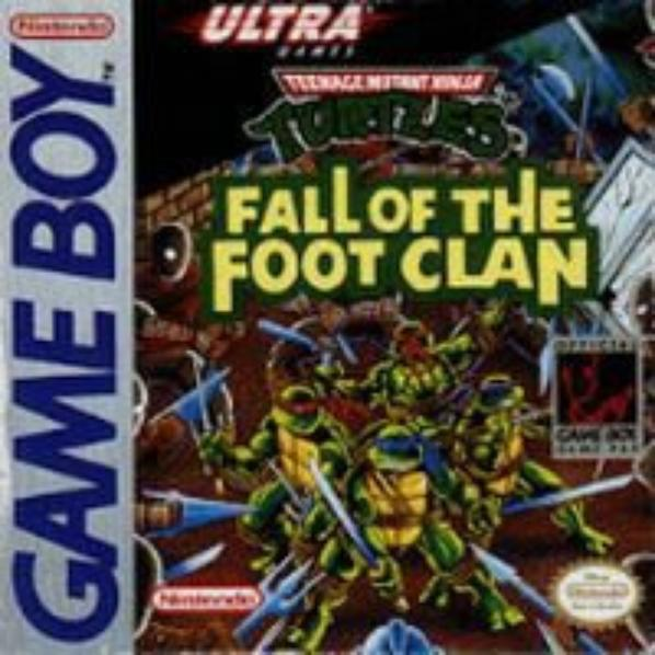 Tortues Ninja : Fall of the Foot Clan – Game Boy