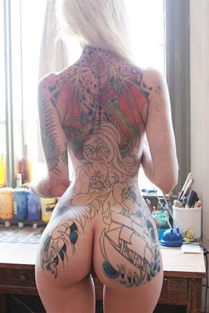 lune de miell tatoo
