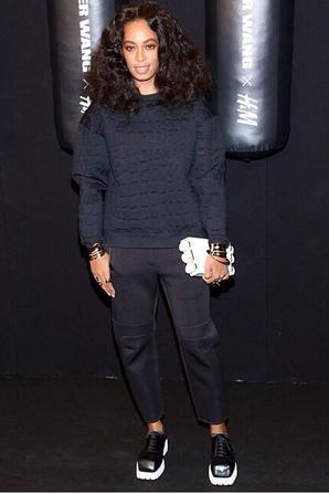 Solange knowles et le styliste de H&m
