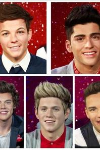 ● One Direction ; Madame Tussauds ●ღ