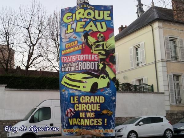 LE CIRQUE SUR L'EAU  A SENS  2019    ART 004