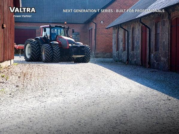 valtra t213 et arracheuse a bettraves holmer