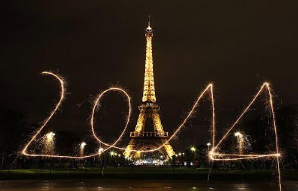 Que votre année 2014 soit un feu d'artifice de bonheur et d'amour!