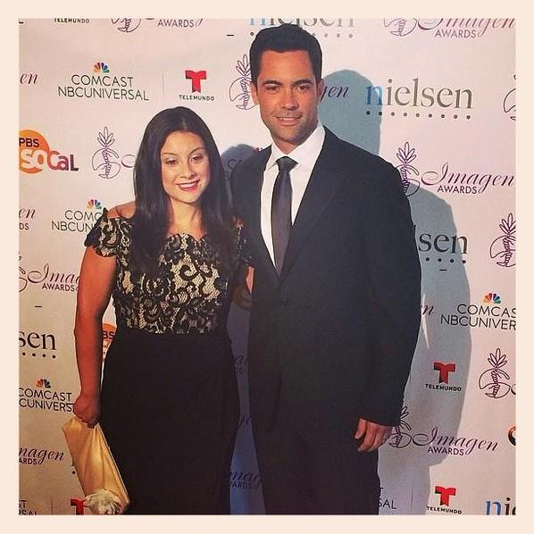 Danny Pino and wife Lilly at 29th Annual Imagen Awards