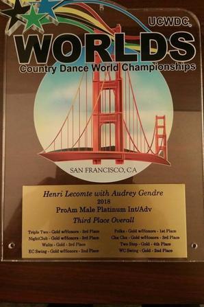 Championnats du Monde UCWDC 2018 San Francisco.
