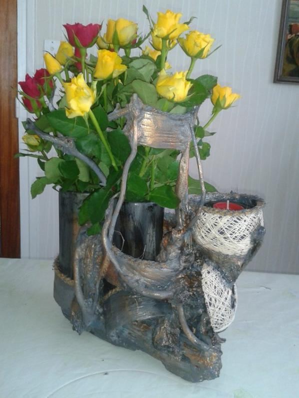 Vase a roses