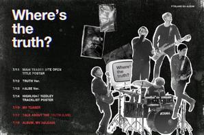 FTISLAND - 'Where's The Truth ?' - 18 juillet 2016