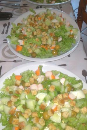 ~~~~ Salade verte fraicheur ~~~