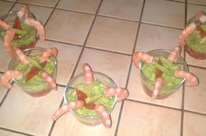 Verrines Fantaisies  (Menu Repas de Famille : Entrée 2/2)