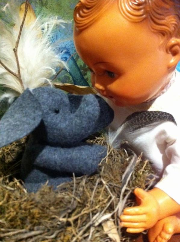 L'enfant qui murmurait à l'oreille des éléphants...