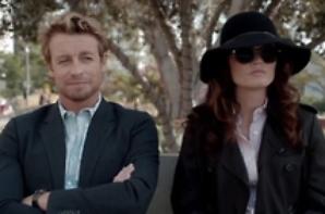Jane, Lisbon, le chapeau et les lunettes de soleil de celle-ci lors de l'épisode 12 de la saison 6
