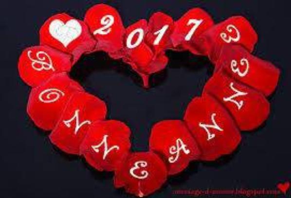 je vous souhaite une tre bonne année et une bonne santé de 2017 a vous tous  mes amie et ami bisous