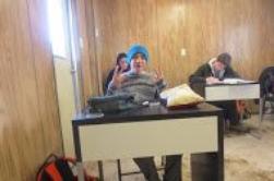 Bienvenue dans notre classe mobile