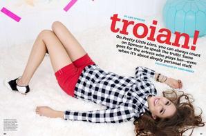 Seventeen avec Troian Bellisario