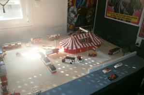 aménagement de la  pièce consacré aux cirques