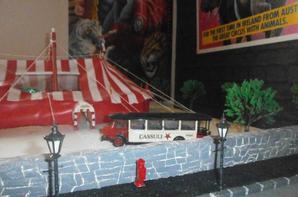 maquette  du cirque CASSULI
