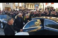 Adieu à mon idole à Paris 9 Décembre 2017 .Merci