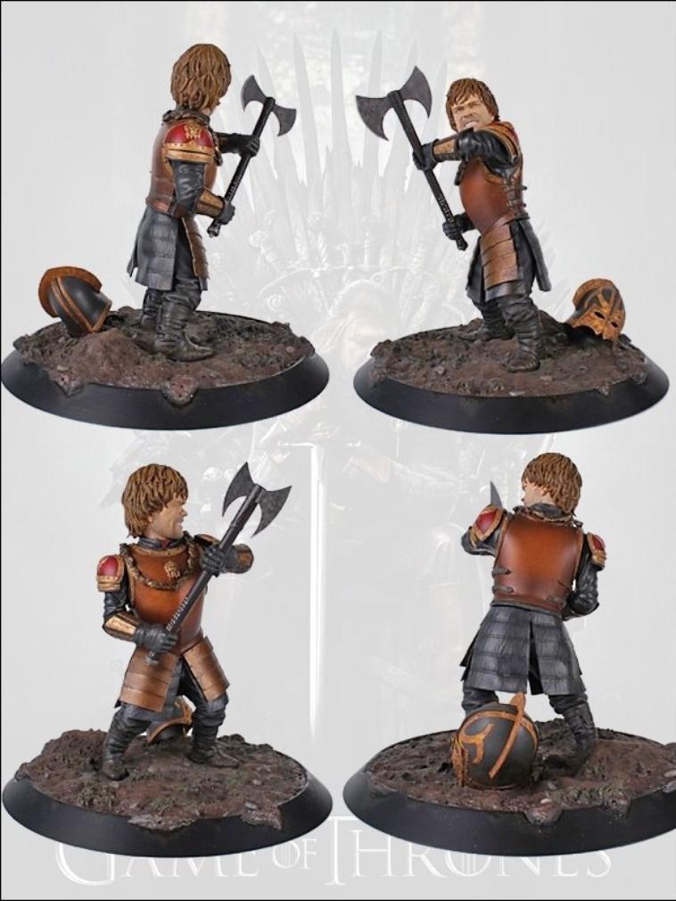 Figurine à l'effigie de Tyrion et Jon