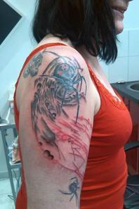 Continuité du tatou