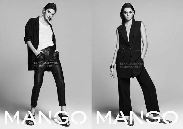 Kendall Jenner pour Mango printemps-été 2016 : collection Tribal Spirit