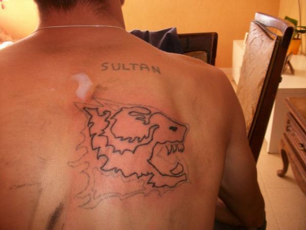 ratrapage du tatouge de mon couz