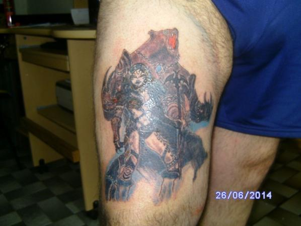 dernier tattoo