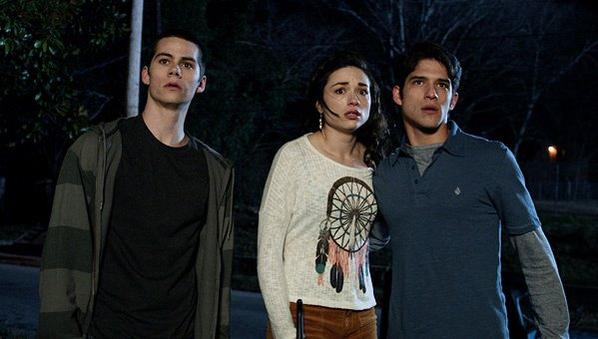 Stiles et Allison et Scott