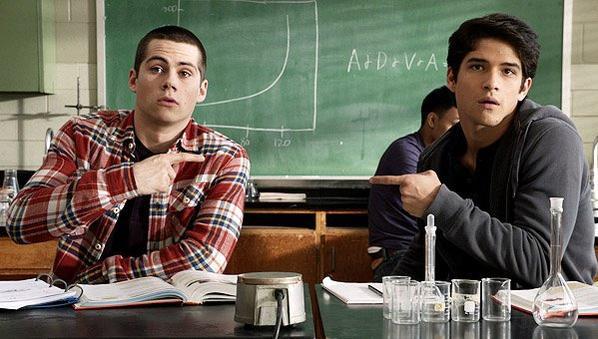 Scott et Stiles