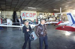 Les photos de ma surprise pour mon anniversaire du mois de novembre 2013 . Mes leçons de pilotage d'avion en initation avec moniteur pilote