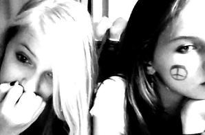 moi avec ma cousine <3 <3