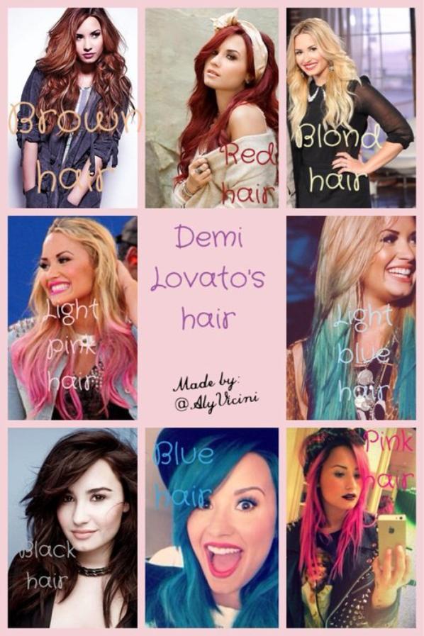 #Demi hair