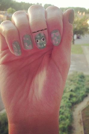 ✦ Pixar nail art. ✦