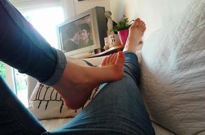 Des pieds de déesse ...