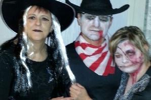 Les Freedancers ont passé une exellente soirée  d' Halloween à Verneville