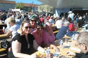 Une merveilleuse journée ensoleillée à Aumetz chez nos amis GCA