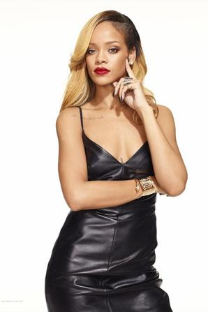Rihanna  Styled to Rock promo