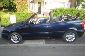 Nouvelles golf 3 karman 1.9 TDI bleu interieur cuir :D Merci papa pour cette belle voiture <3