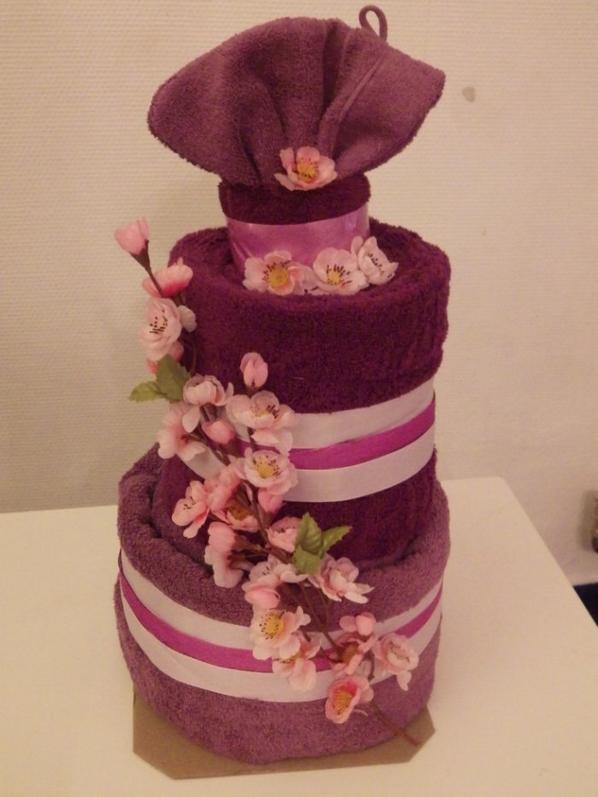 gâteau de serviettes Laura