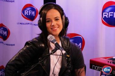 Alizée Concert VIP RFM de Roch Voisine
