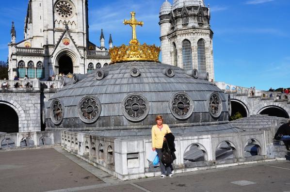 """Basilique de Lourdes """"France Pyrénées"""""""