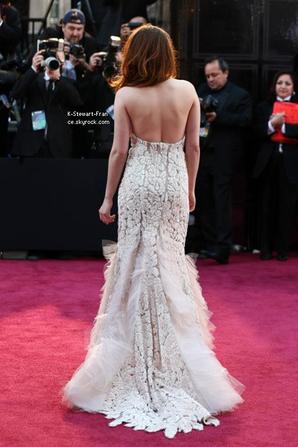 Kristen aux Oscars 2013.