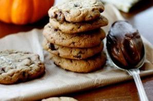 Cookies coeur Nutella® et fleur de sel
