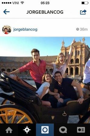Via Instagram de Jorge
