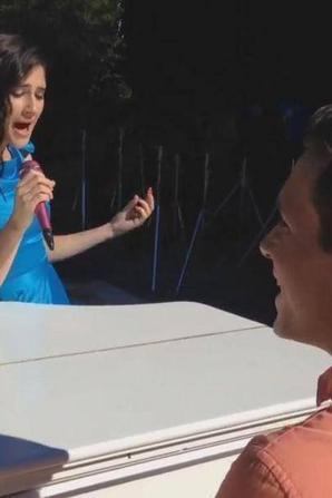 Lodo, Damien, vont faire un vidéo clip pour le mariage de.....german et Angie !!