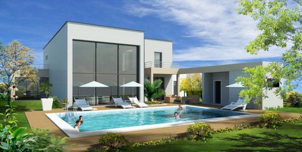 Photo Maison Mediterraneenne plan de maison méditerranéenne de plain pied . - blog de abdel-revit