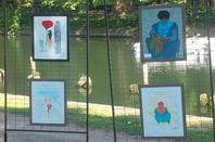 EXPOS  EN PLEIN AIR QUAI DES ARTISTES A LILLE LE 22/06/2014