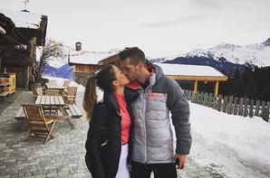 Camille & Morgan Schneiderlin dans les Alpes