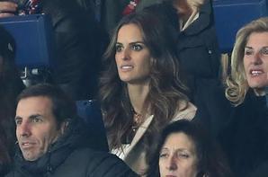Izabel lors de PSG - FC Barcelone
