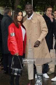 Majda & Mamadou Sakho au Grand Palais pour le défilé CHANEL